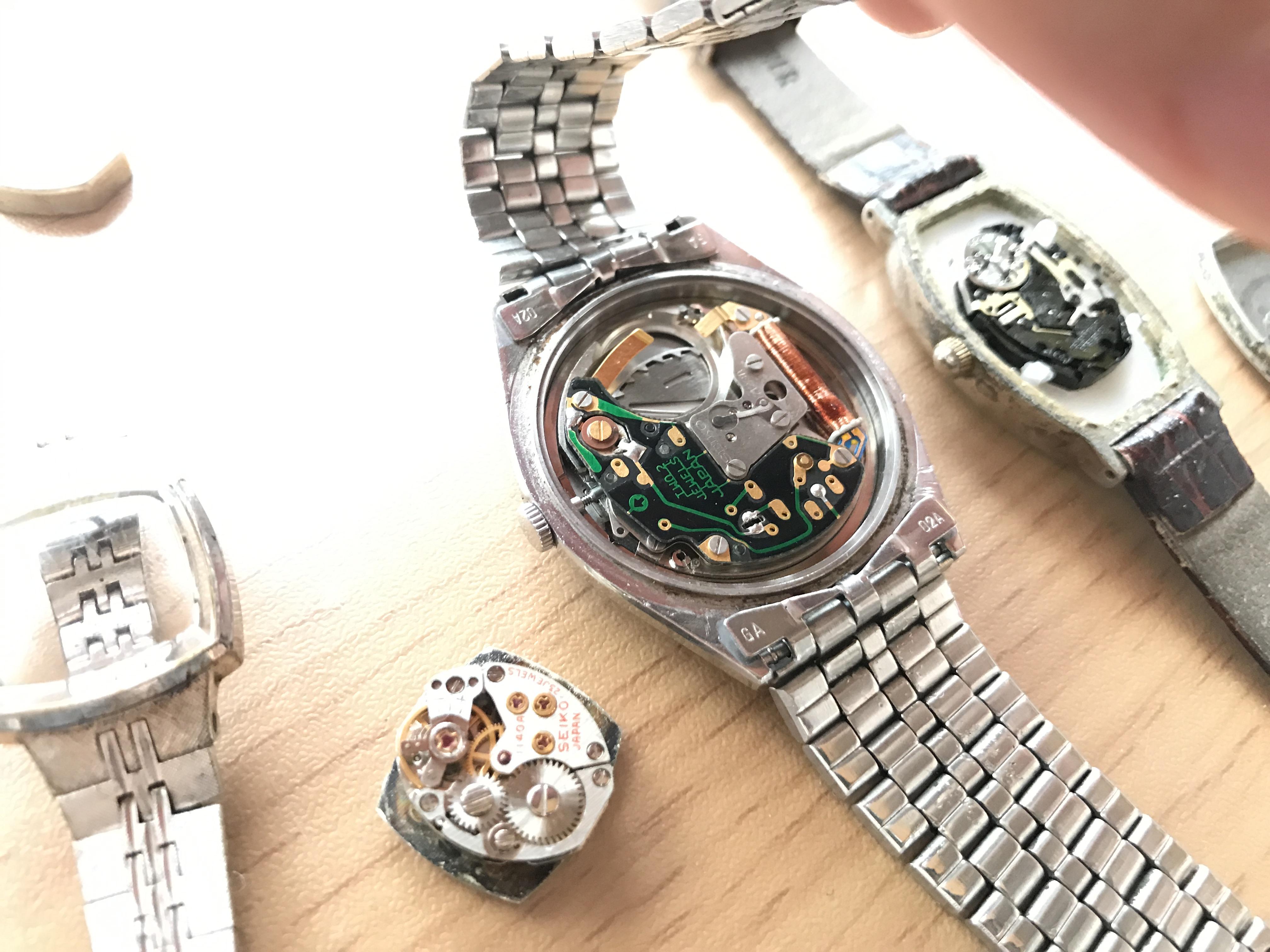 腕時計 リメイク